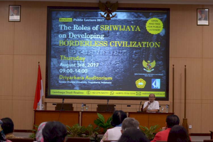 THE ROLES OF SRIWIJAYA ON DEVELOPING BORDERLESS CIVILIZATION