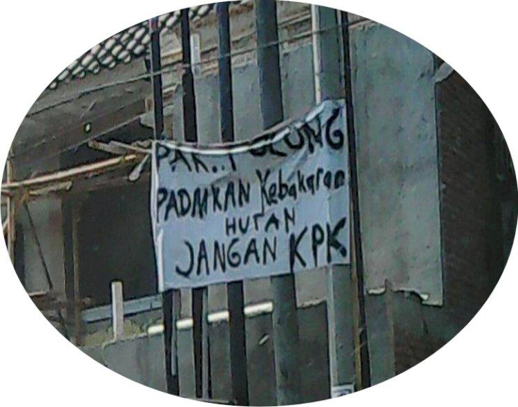 Padamkan Karhutla, Bukan KPK